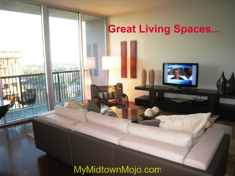 1010 Midtown Living room