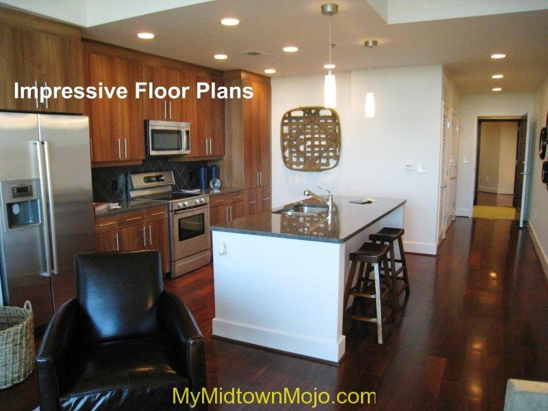 1010 Midtown Kitchen View