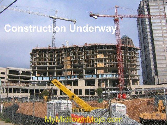 1010 Midtown Under Construction