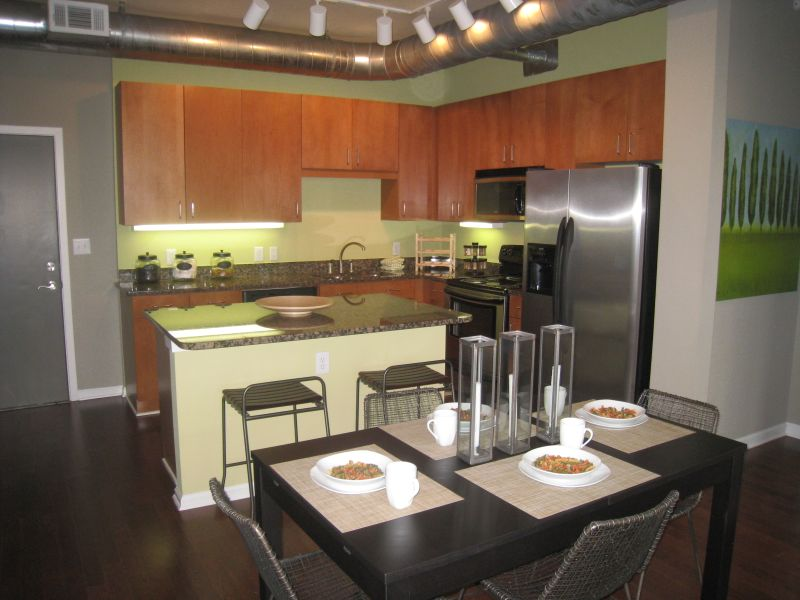 5300 Lofts Kitchen