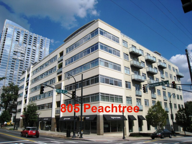 805 Peachtree Condominiums Building