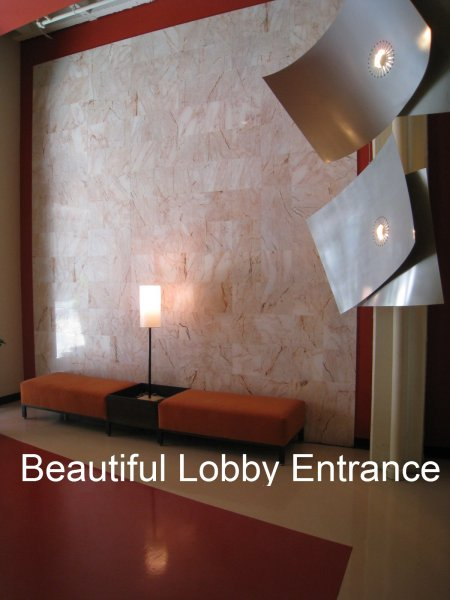 805 Peachtree Condominiums Lobby Entrance