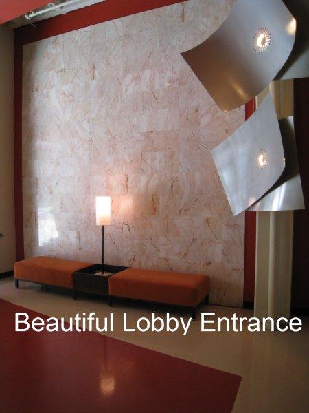 805 Peachtree Condominiums Lobby Entrance