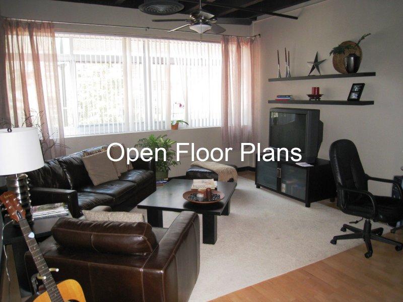 805 Peachtree Condominiums Living Room