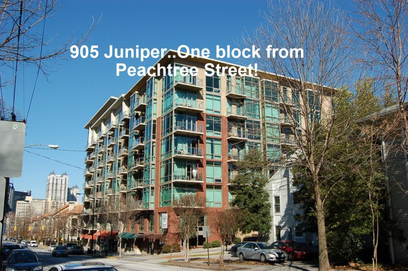 905 Juniper Condominiums Exterior