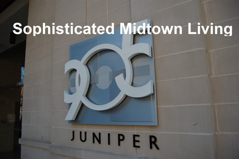905 Juniper Condominiums Sign