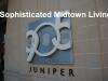 905 Juniper Condominiums Sign