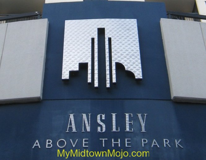Ansley Above The Park Building Sign