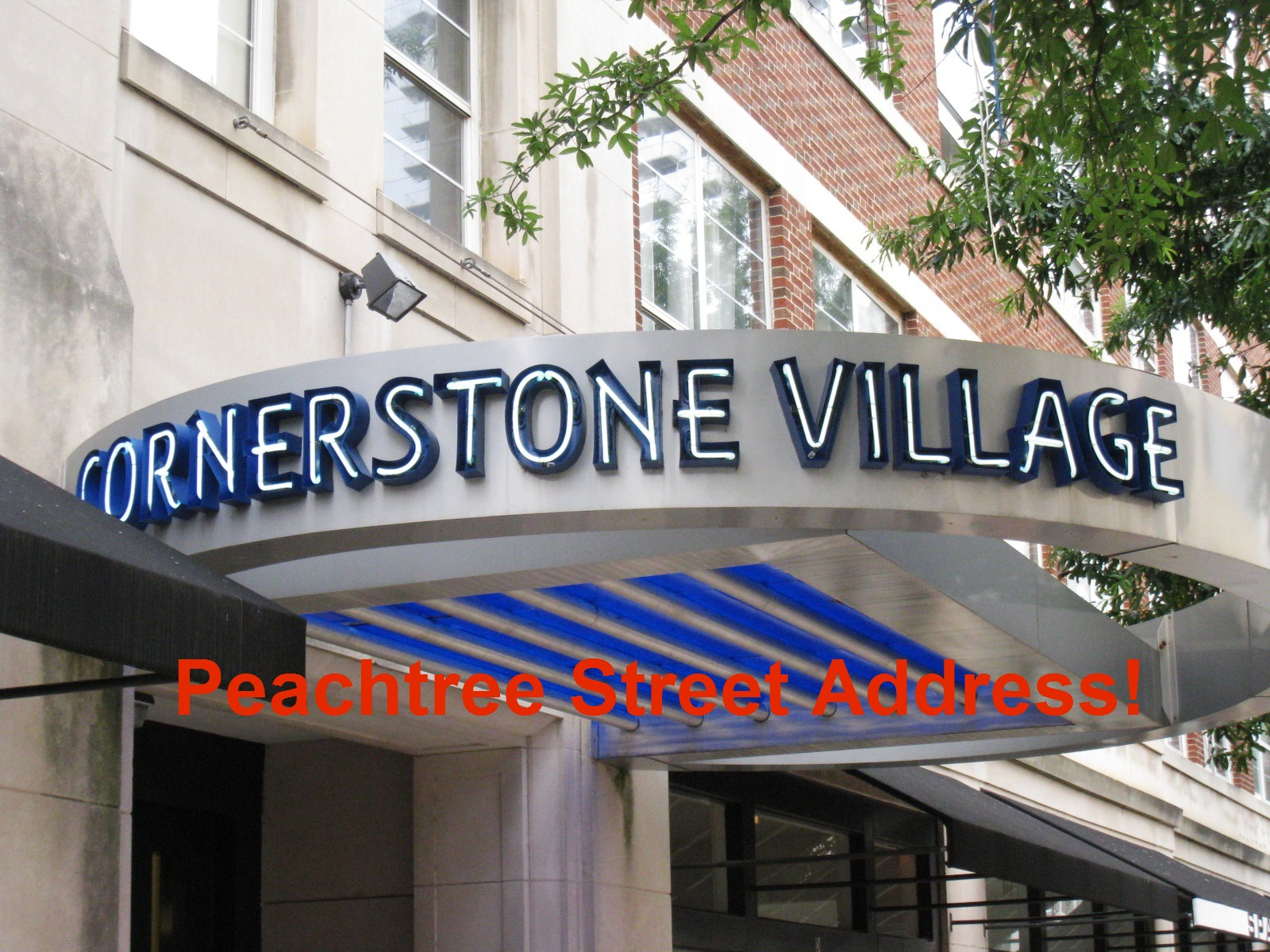Cornerstone Village Building Name