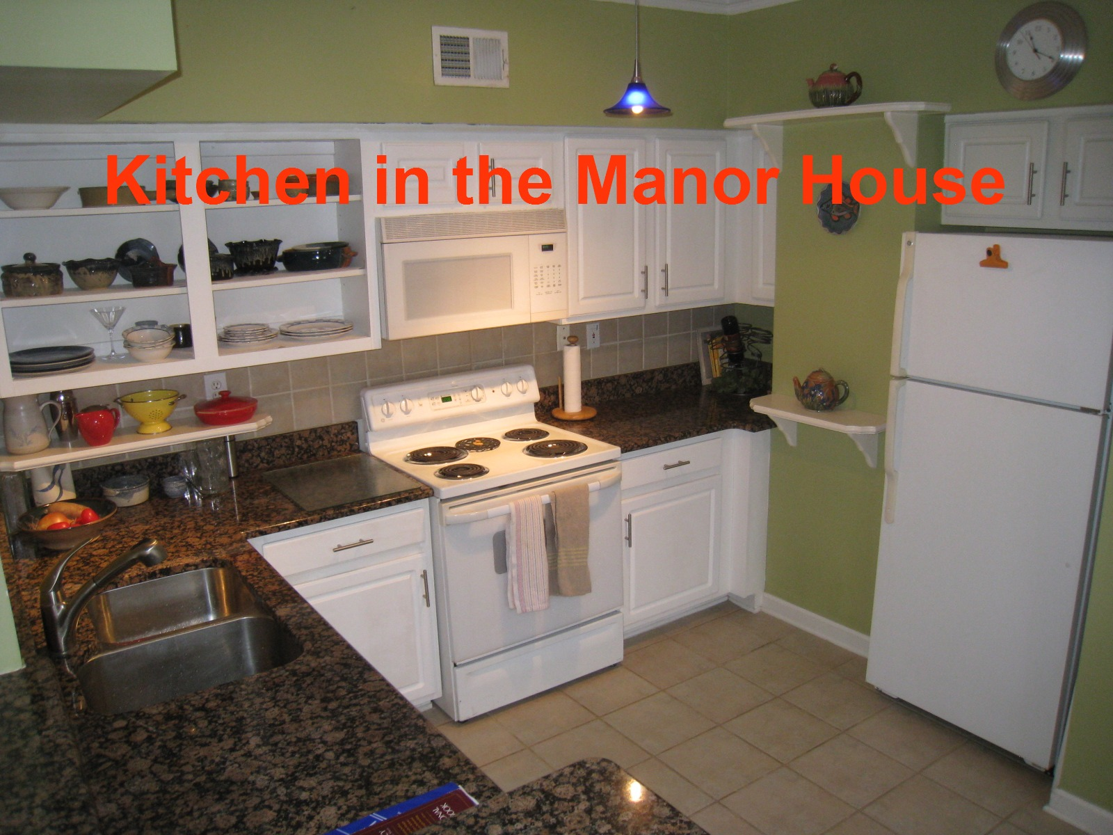 Cornerstone Village Manor House Kitchen