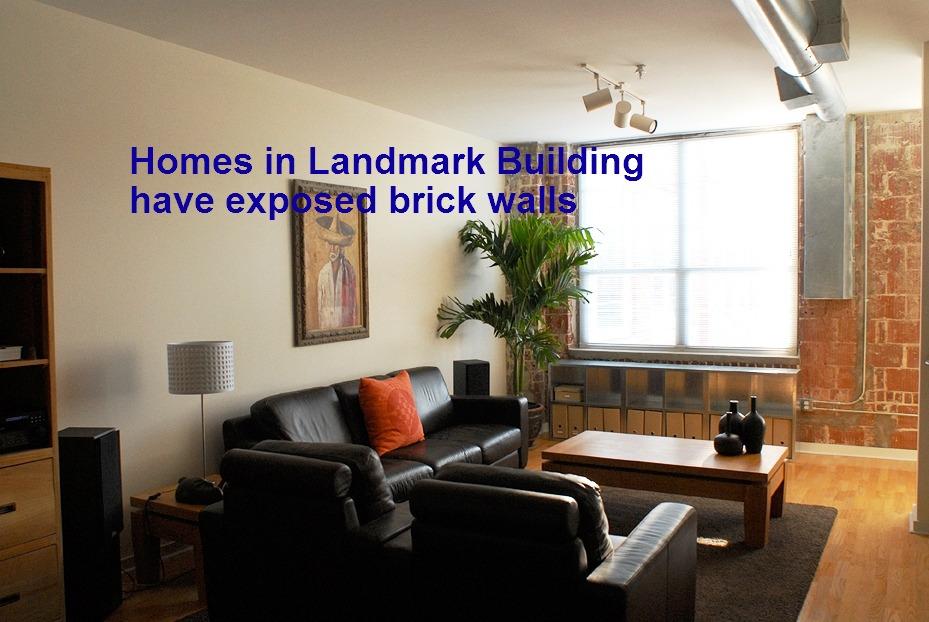 Cornerstone Village Landmark Livingroom