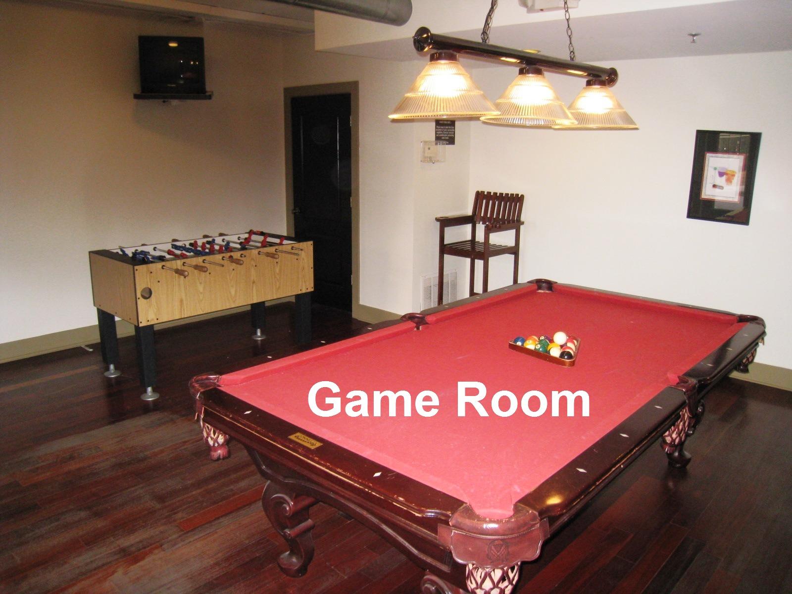 Cornerstone Village Game Room