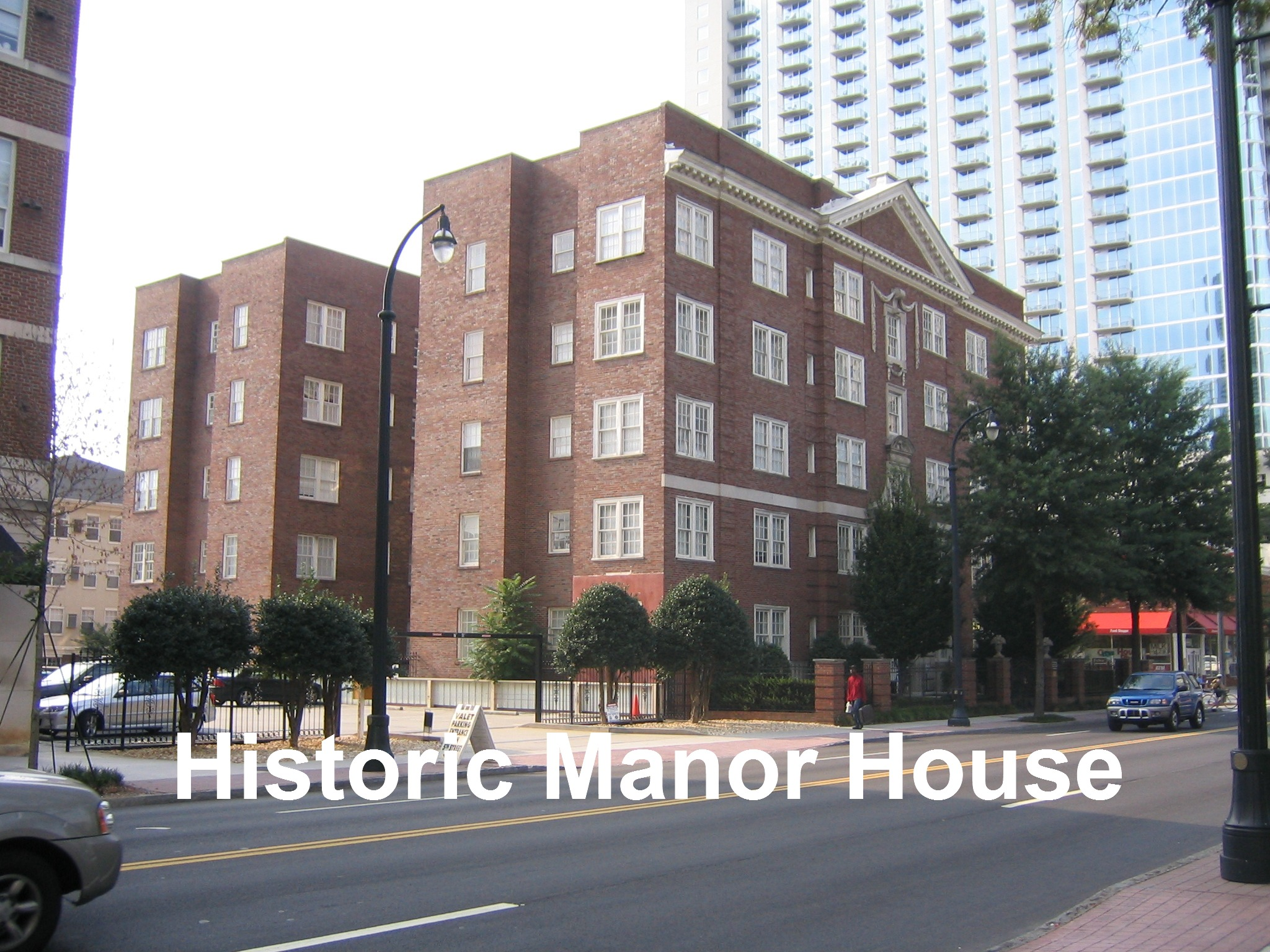 Cornerstone Village Manor House Building