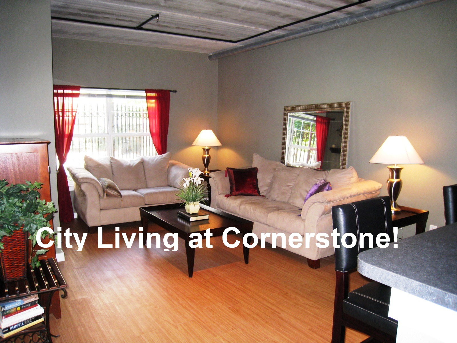 Cornerstone Village Gallery Living Room
