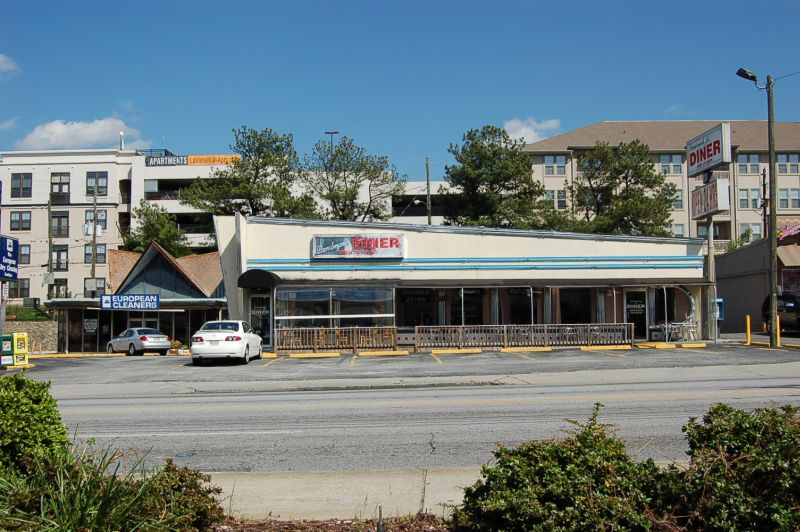 Landmark Diner on Cheshire Bridge Road
