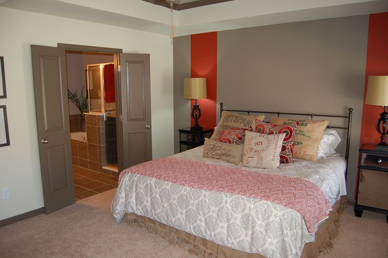 The Park at LaVista Walk Townhomes Master Suite
