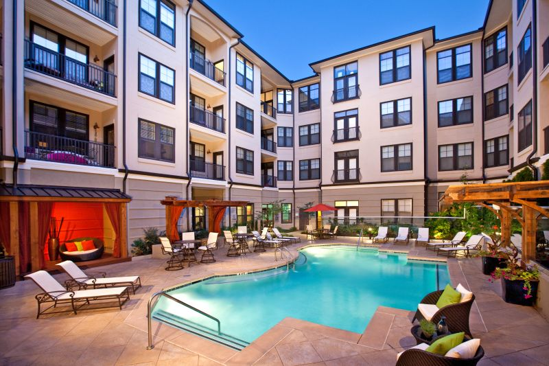 The Park at LaVista Walk Townhomes Pool
