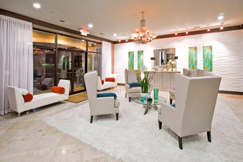 The Park at LaVista Walk Townhomes Lobby