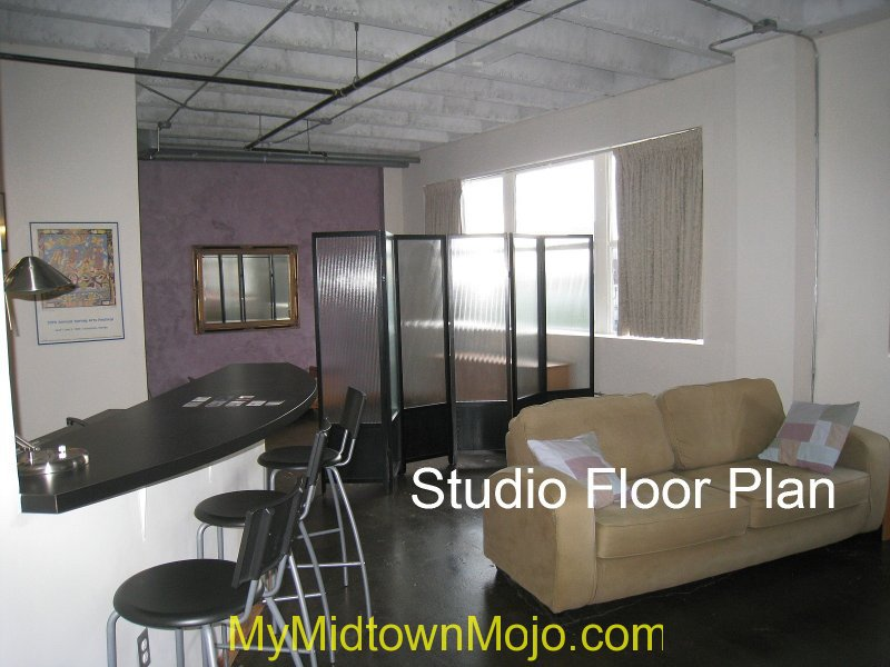 Peachtree Lofts Interior