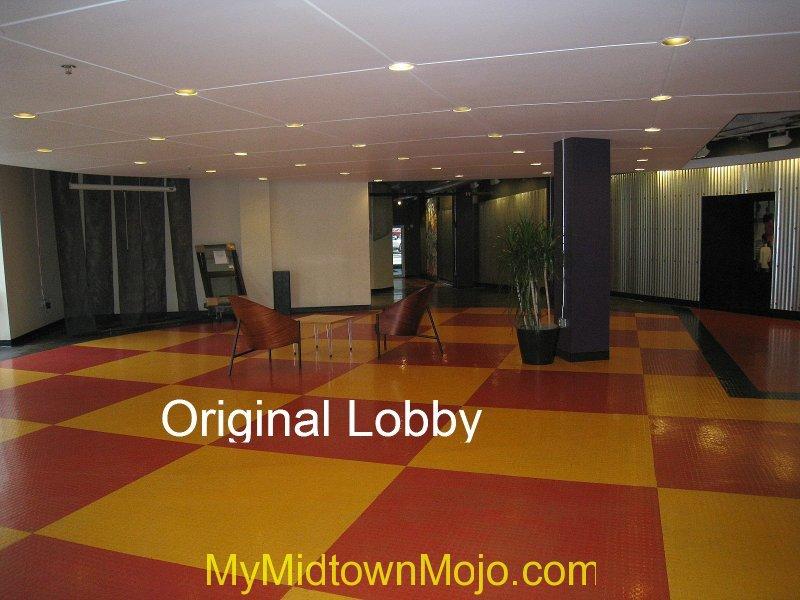 Peachtree Lofts Original Lobby