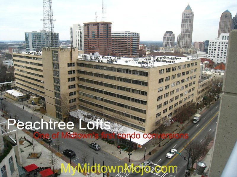 Peachtree Lofts Exterior