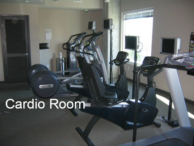 Spire Midtown Cardio Room
