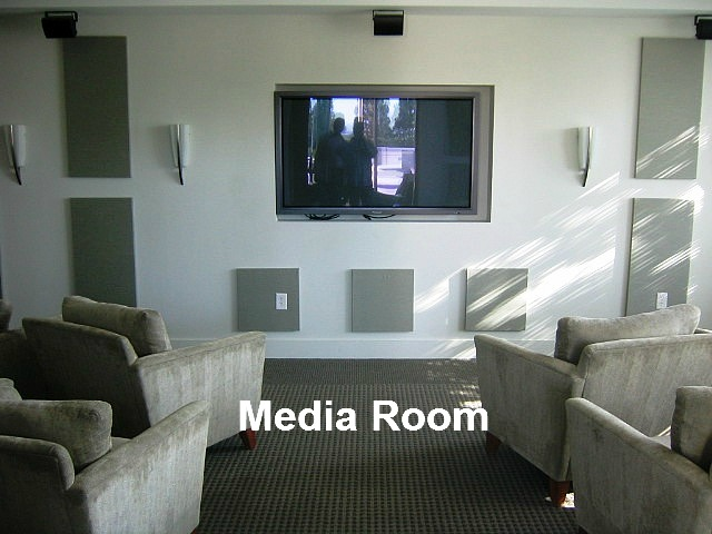 Spire Midtown Media Room