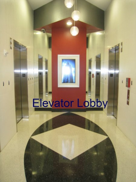 Spire Midtown Elevator Lobby