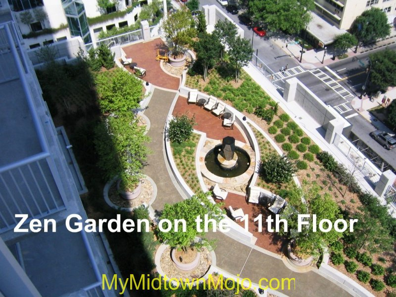 Viewpoint Midtown Roof Top Zen Garden