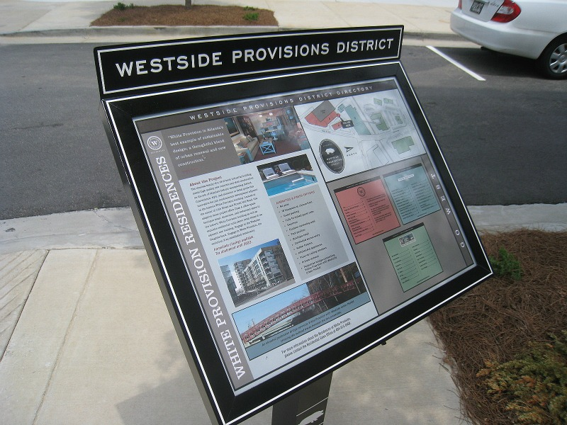 white-provisions-district-sign