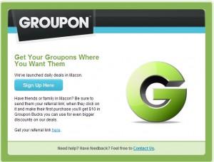 Groupon Comes To Macon GA