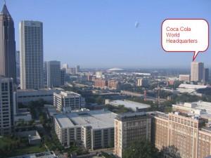 Coca Cola World Headquarters Midtown Atlanta