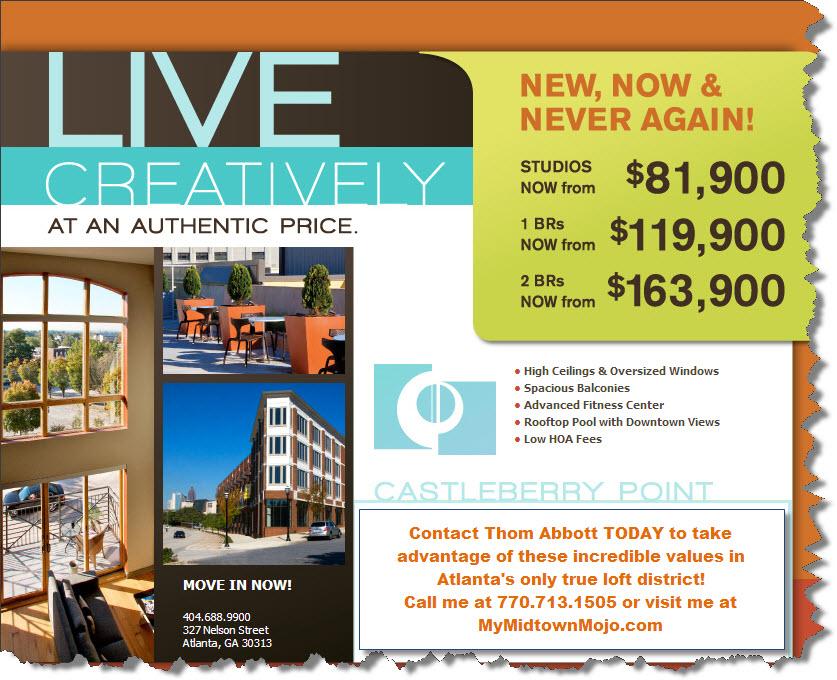 Castleberry Point Condominiums Atlanta GA