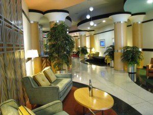 Spire Midtown Atlanta Lobby