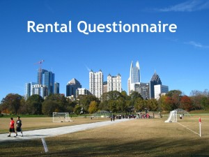 Thomas Ramon Realty Rental Questionnaire