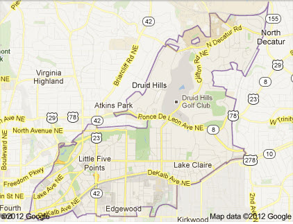 Search Homes For Sale in Zip Code 30307