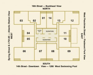 plaza midtown atlanta floor plans floor plan collections midtown plaza floor plans plaza free download home plans