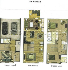 The Park at LaVista Walk Kendall Floor Plan