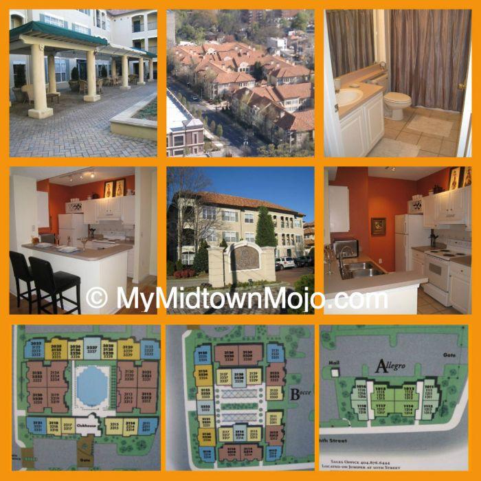 Homes For Sale at Tuscany Condos Midtown Atlanta
