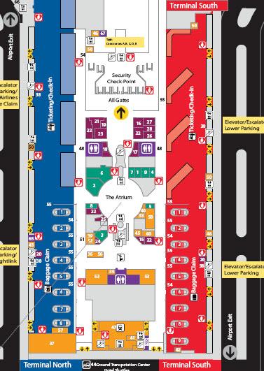 atlanta airport domestic terminal map Atlanta Area Information Archives atlanta airport domestic terminal map