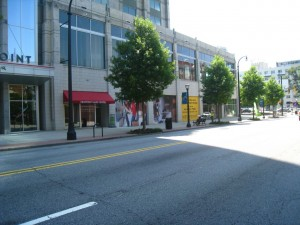 Retail Space on Peachtree Street Midtown Atlanta