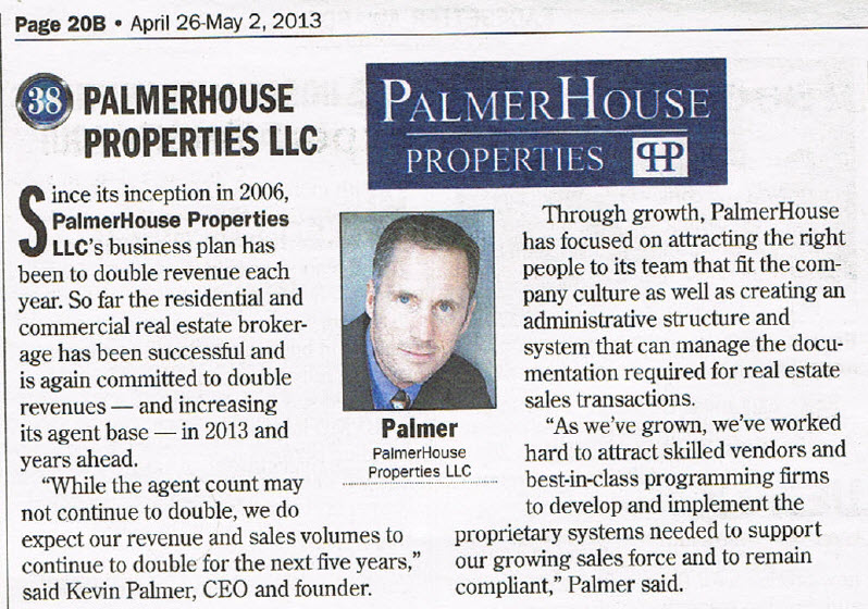 Palmer House Atlanta Top 100 Private Companies