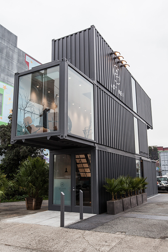 Shipping container construction makes it to atlanta yumbii to launch midtown restaurant - Container store home ...