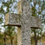 Closeup image of the cross