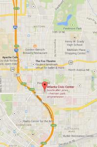 Atlanta Civic Center Location