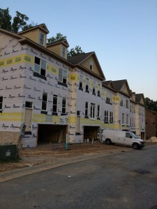 New Townhome Construction Atlanta Chestnut Place