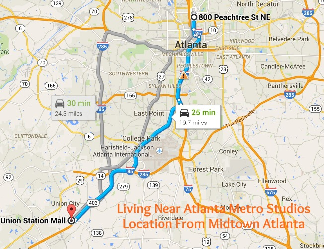 Living Near Atlanta Metro Studios Midtown Atlanta