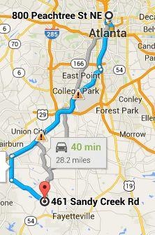 Where Is Pinewood Atlanta Studios from Midtown