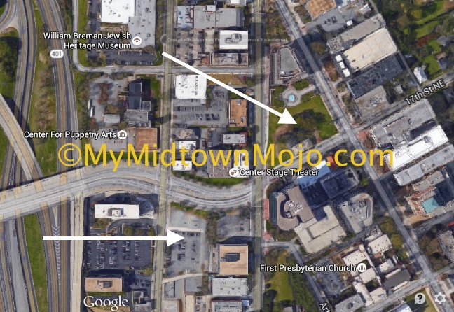 17th and Peachtree Site Map May 21, 2015