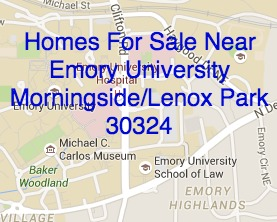 Homes For Sale Near Emory University May 2015